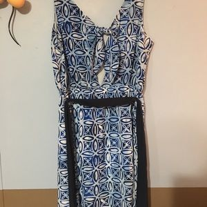 Beautiful Dressy Maxi Dress W/ Peek A Boo Back 1x